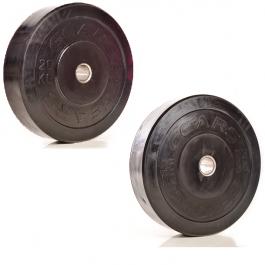Kit anilhas bumper 20kg e 25kg Gears