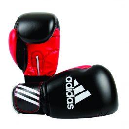 Luva de Boxe Response Adidas Preta/Vermelha 16 0z