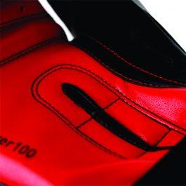 Luva Adidas Power 100 Preta/Vermelha 10 oz