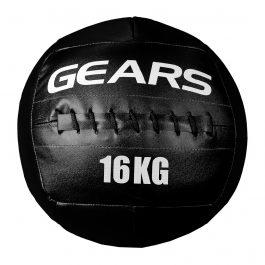 Wall Ball 16kg Black Edition GEARS